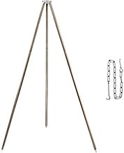 ZDAMN Camping Cooking Tripod Cooker Campfire Grill
