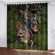 ZDPLL 3D Printed Window Blackout Crocodile Full