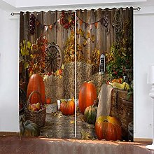 ZDPLL 3D Printed Window Blackout pumpkin Full