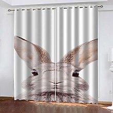 ZDPLL 3D Printed Window Blackout rabbit Full Shade
