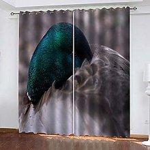ZDPLL 3D Printed Window Blackout Wild duck Full