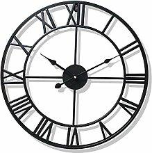 ZDZQDD Wall Clock, Vintage Roman Numerals Wall