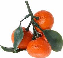 Zeagro 1 x Artificial Fruit Tangerine Realistic