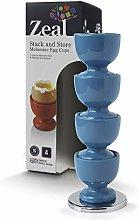 Zeal G267A Egg Cups, Aqua