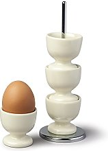 Zeal G277C Stack and Store Egg Cups/Holders, Set