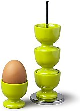 Zeal G277L Stack and Store Egg Cups/Holders, Set