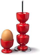 Zeal G277R Stack and Store Egg Cups/Holders, Set