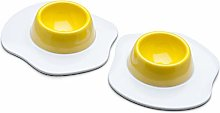 Zeal G278A Egg Cup, White/Yellow
