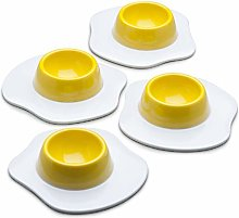 Zeal G278B Egg Cup, White/Yellow