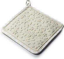 Zeal Gingham Silicone Square Trivet Mat and Hot