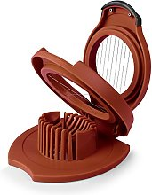 Zeal L80R Boiled Egg Slicer, Plastic, Red