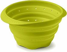 Zeal M124L Collapsible Colander, Lime