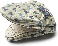 Zeal Mini Mitt/Pot Holder, Hen/Cream, Small