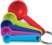Zeal Perfect Measure Silicone Measuring Spoon Se