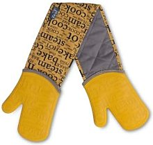 Zeal - Silicone Double Oven Gloves - mustard -