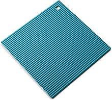 Zeal Silicone Heat Resistant Non-Slip Trivet, Aqua