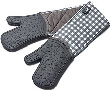Zeal Silicone Heavy Duty Double Oven Gloves Mitts,