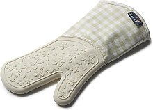 Zeal Silicone Heavy Duty Gingham Oven Glove