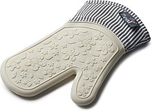 Zeal Silicone Heavy Duty Single Stripe Oven Mitt,