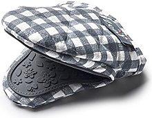 Zeal V124T Gingham Mini Mitt Pot Holder, Cotton,