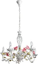 Zebedee 5-Light Candle-Style Chandelier Lily Manor