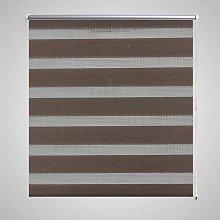 Zebra Blind 100 x 175 cm Coffee