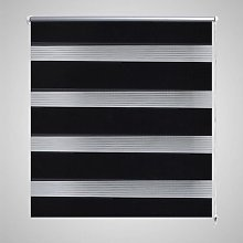 Zebra Blind 120 x 230 cm Black VD08143