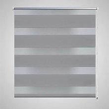 Zebra Blind 120 x 230 cm Grey VD08142