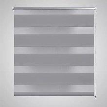 Zebra Blind 140 x 175 cm Grey VD08146