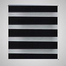 Zebra Blind 60 x 120 cm Black VD08115
