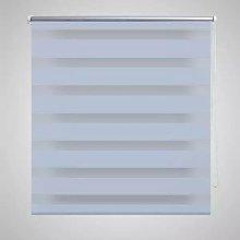 Zebra Blind 70 x 120 cm White VD08117