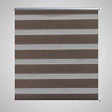 Zebra Blind 80 x 150 cm Coffee VD08124