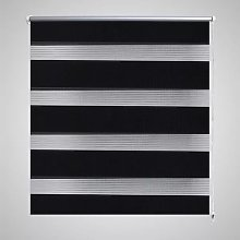 Zebra Blind 80 x 175 cm Black VD08127