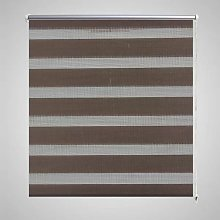 Zebra Blind 90 x 150 cm Coffee