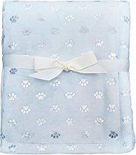 ZECHREY Unisex Baby Foil Print Coral Fleece