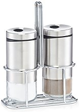 Zeller 19631 Salt and Pepper Shaker Set, Clear
