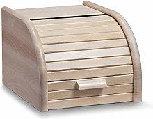 Zeller 20462 Bread Bin 28x23x18 cm Small Beechwood