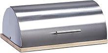 Zeller 20475 Bread Bin 39x29x16 cm Stainless Steel