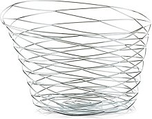 Zeller 27321 Bread Basket with Bag 33x24x13 cm
