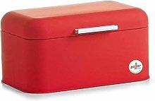 Zeller Bread Bin 30,5x20,7x15cm in red,