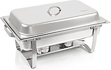 Zelsius chafing dish stainless steel food warmer