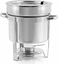 Zelsius Stainless Steel Chafing Dish Round | Food