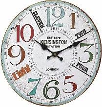 Zendaya Vintage 34cm Wall Clock Borough Wharf