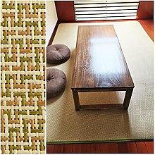 ZENGAI Summer Heat Dissipation Rattan Carpet,