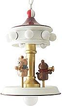 Zenghh Carousel Concert Chandelier for Infant Boy