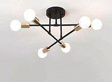Zenghh Modern Sputnik Classic 6 Heads Chandelier
