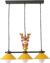 Zenghh Monkey Catching Stars Chandelier American