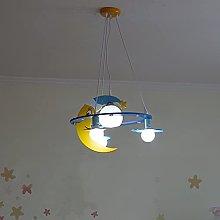 Zenghh Moon Baby Chandelier Cartoon Fairy Tale