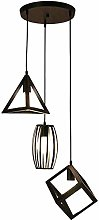 Zenghh Nordic Simple Wrought Iron Pendant Light,