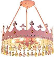 Zenghh Queen's Crown Chandelier for Toddler